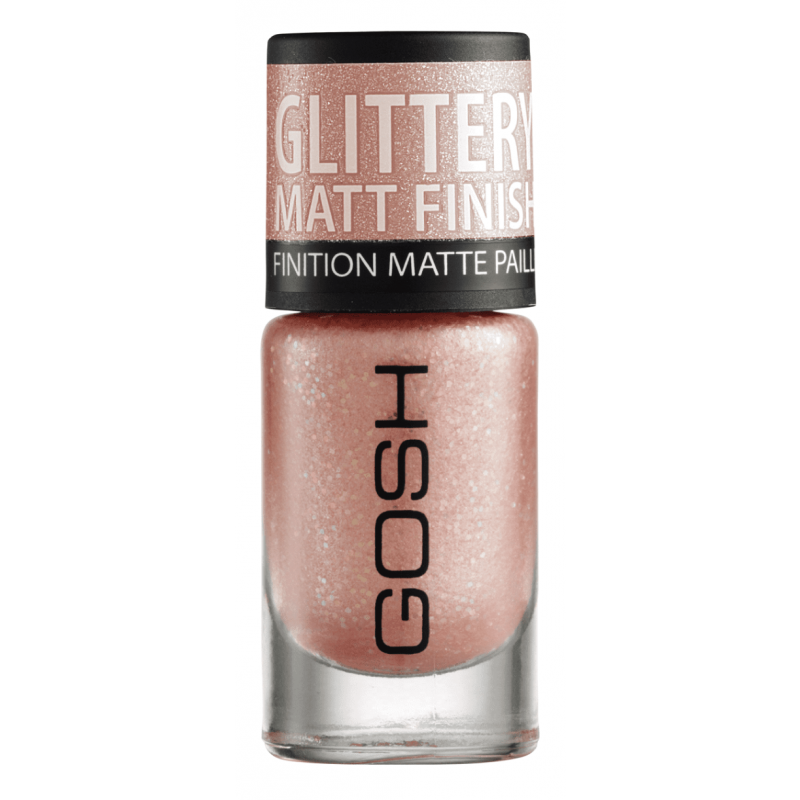 GOSH Frosted Nail Lacquer 07 Frosted Soft Coral