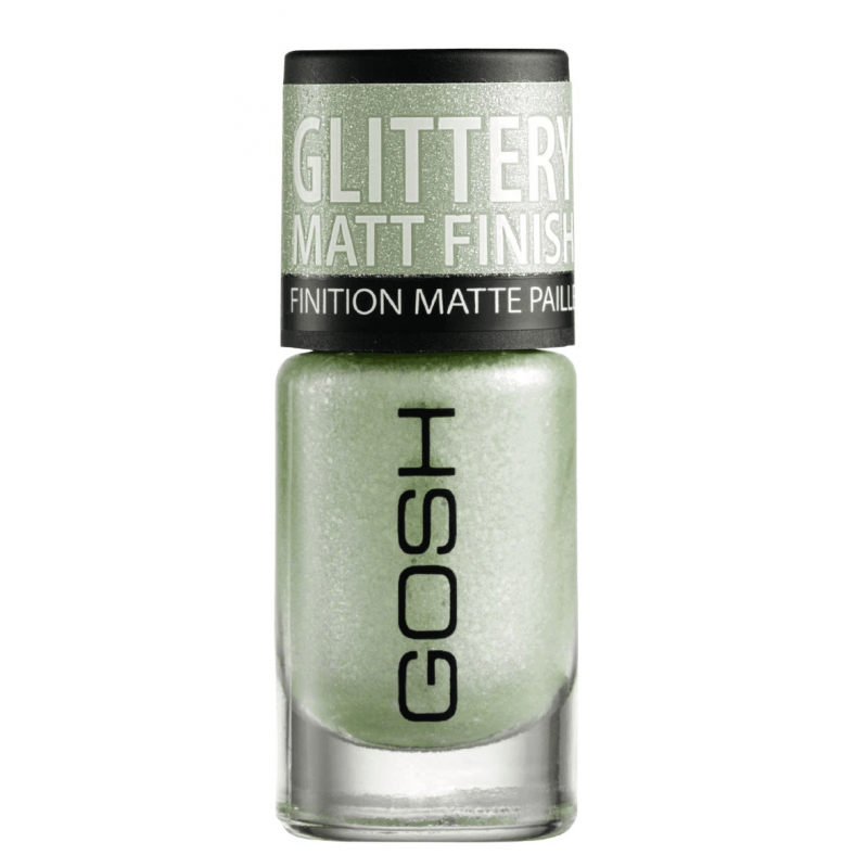 GOSH Frosted Nail Lacquer 09 Frosted Soft Green