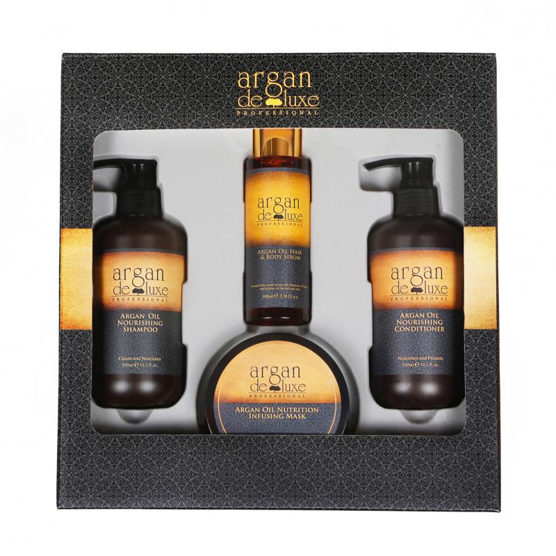 Argan De Luxe Hair Kit
