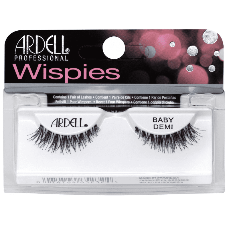 Ardell Wispies False Lashes Baby Demi Black