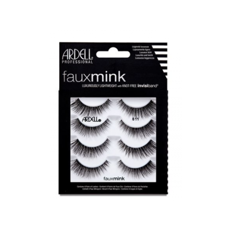 Ardell Faux Mink Lashes 811 4-Pack