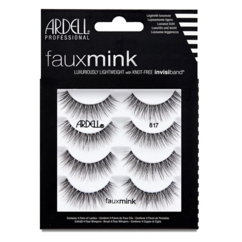 Ardell Faux Mink Lashes 817 4-Pack