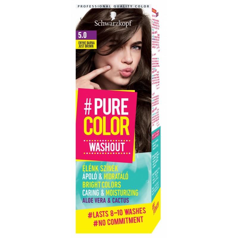 Schwarzkopf Pure Color Washout 5.0 Just Brown
