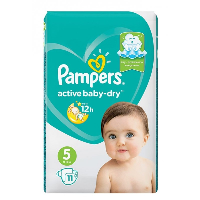 Pampers Active Baby-Dry 5