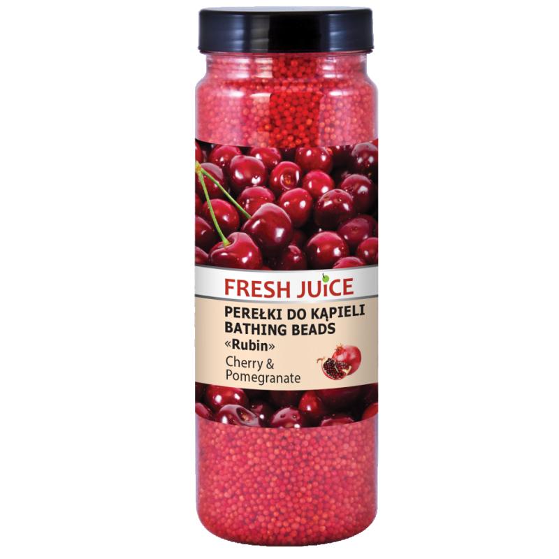 Fresh Juice Cherry & Pomegranate Bathing Beads