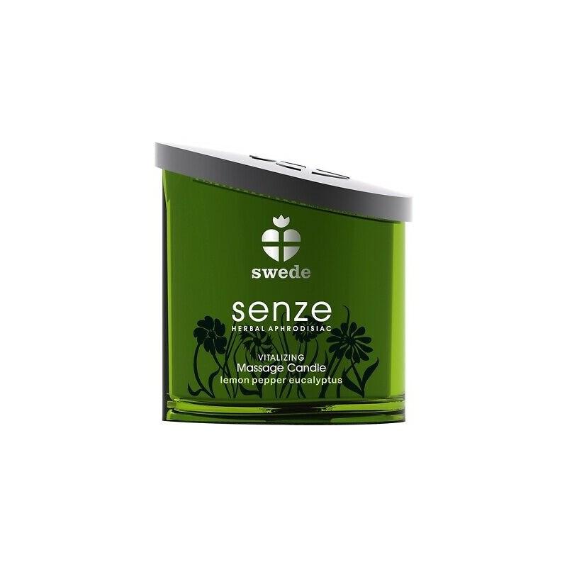 Swede Senze Vitalizing Massage Candle Lemon Pepper Eucalyptus
