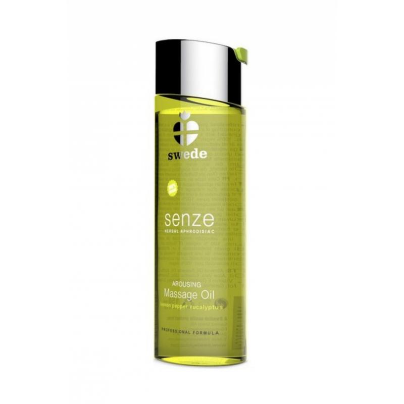 Swede Senze Arousing Massage Oil Lemon Pepper Eucalyptus