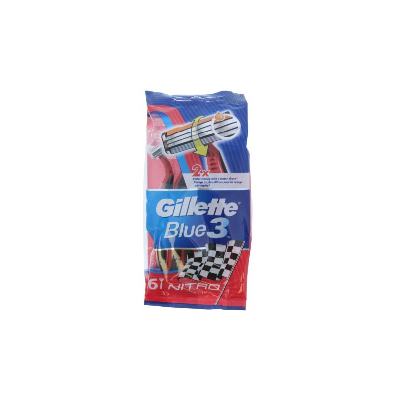 Gillette Blue3 Disposable Razors Nitro
