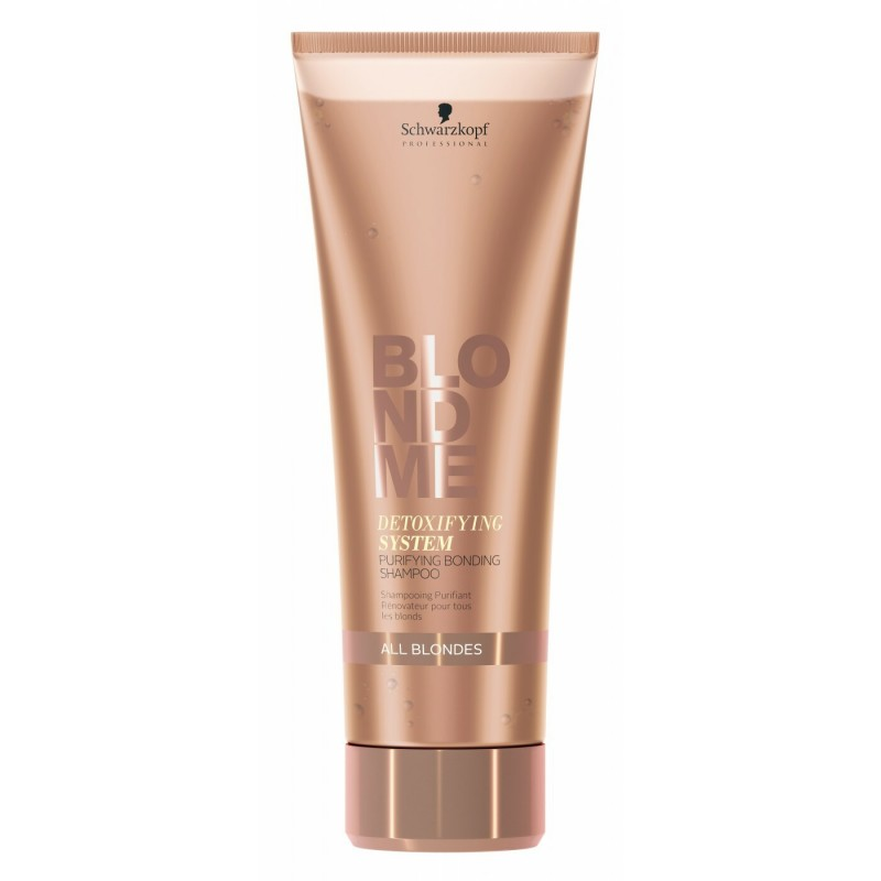 Schwarzkopf Blondme Detoxifying System Purifying Bonding Shampoo