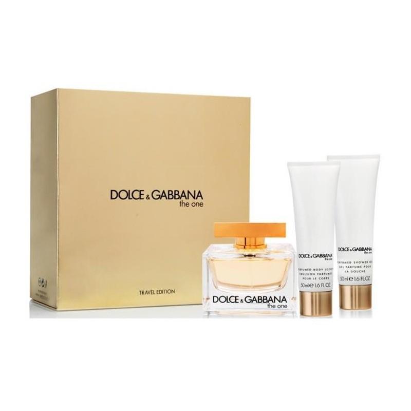 Dolce & Gabbana The One EDP & Body Lotion & Shower Gel