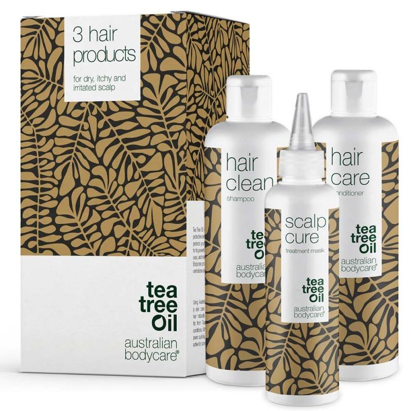 Australian Bodycare Hair Care Kit Cure & Shampoo & Conditioner