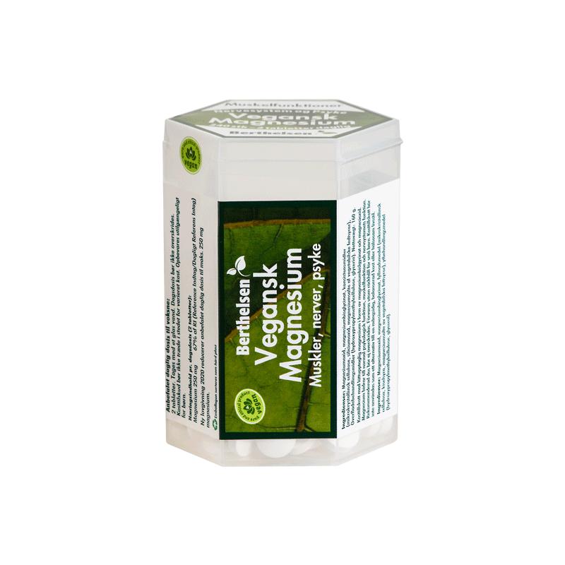 Berthelsen Magnesium Vegan 250 mg