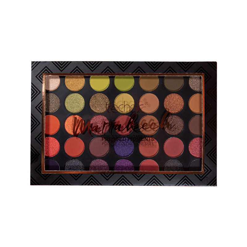 Technic Pressed Pigment Palette Marrakech