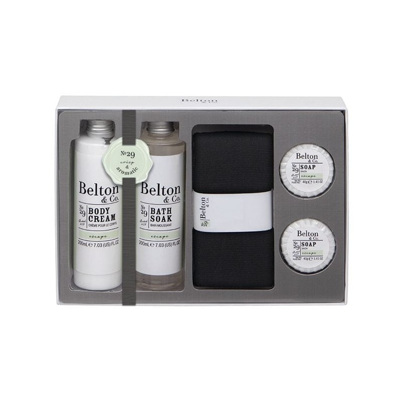 Belton & Co. Escape Bath & Body Set