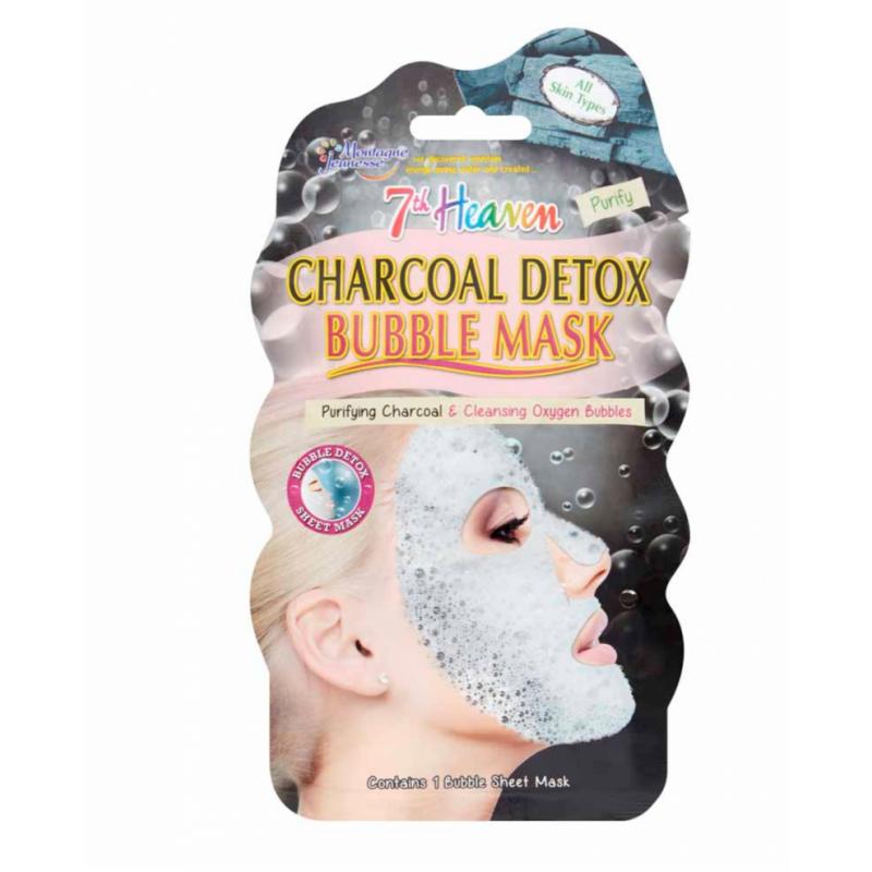 Montagne Jeunesse Charcoal Detox Bubble Sheet Mask