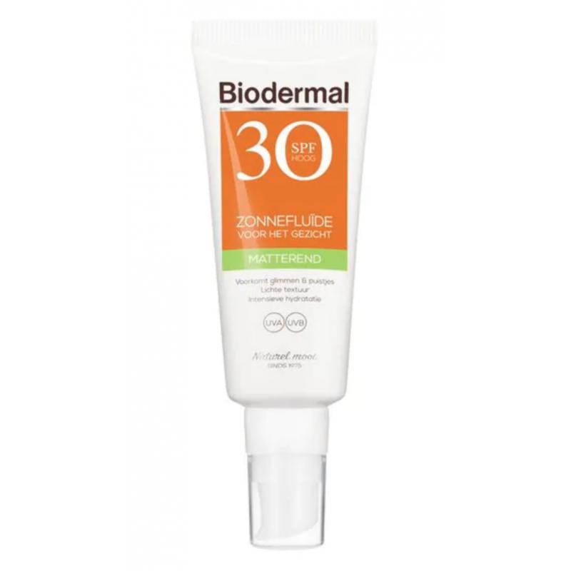 Biodermal Mattifying Suncreen Face SPF30