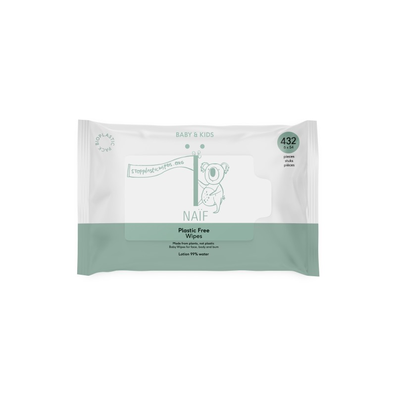 Naïf Care Plastic Free Baby Wipes