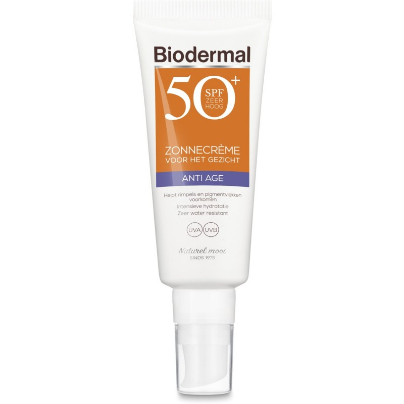 Biodermal Sunscreen Face Anti Age SPF50+