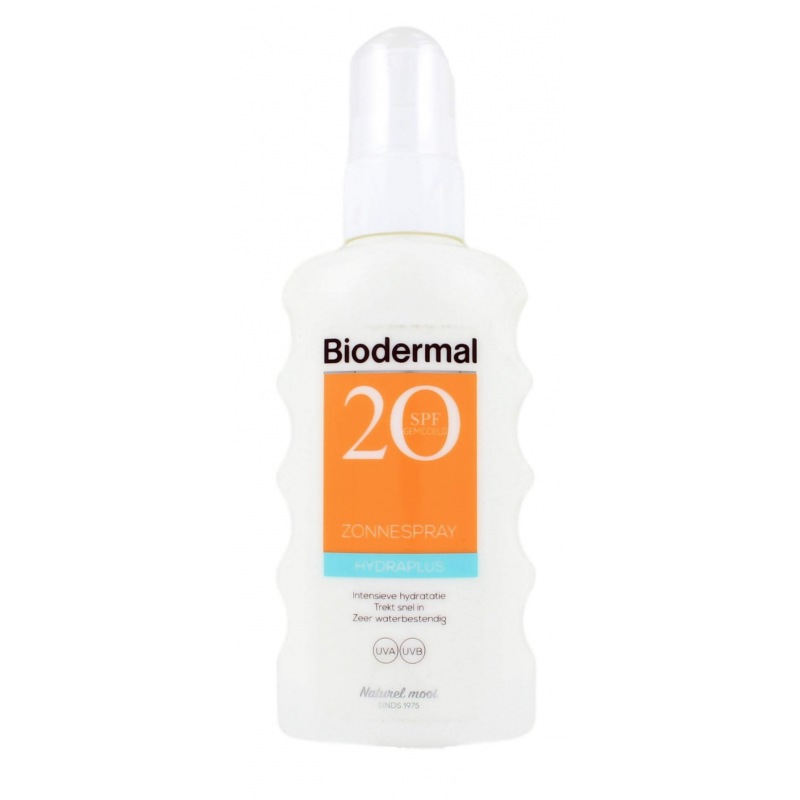 Biodermal Sunspray HydraPlus SPF20