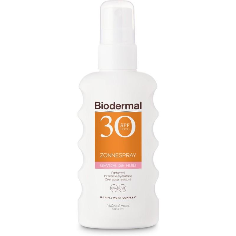 Biodermal Sunspray Sensitive Skin SPF30
