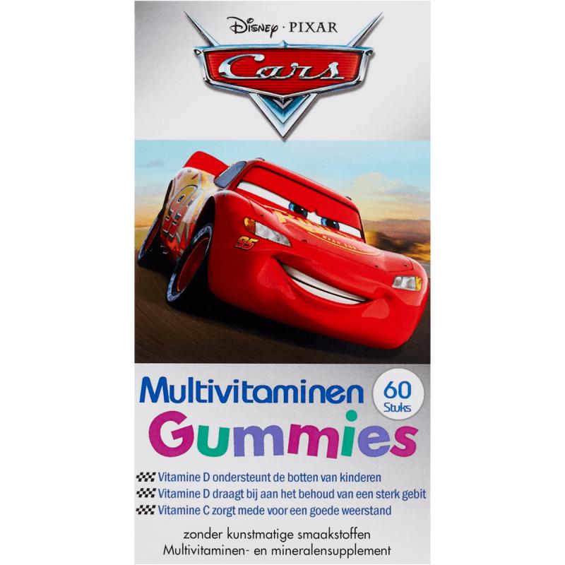 Disney Kids Multivitamin Gummies Cars