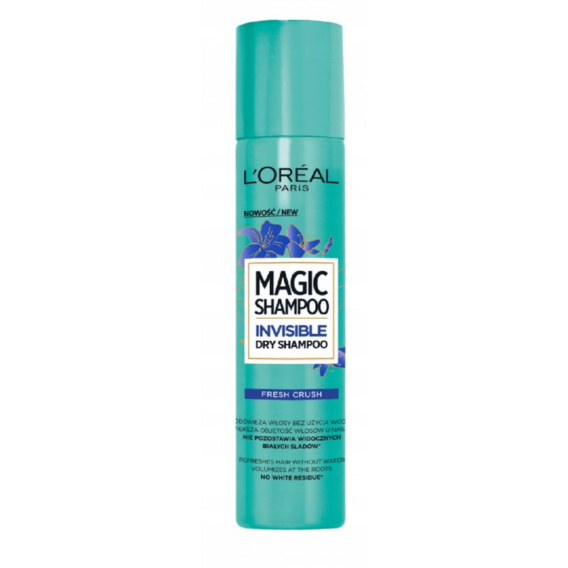 L'Oreal Magic Shampoo Invisible Dry Shampoo Fresh Crush