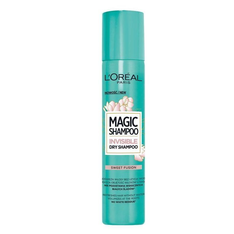 L'Oreal Magic Shampoo Invisible Dry Shampoo Sweet Fusion