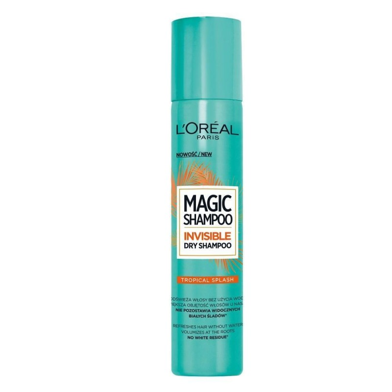 L'Oreal Magic Shampoo Invisible Dry Shampoo Tropical Splash