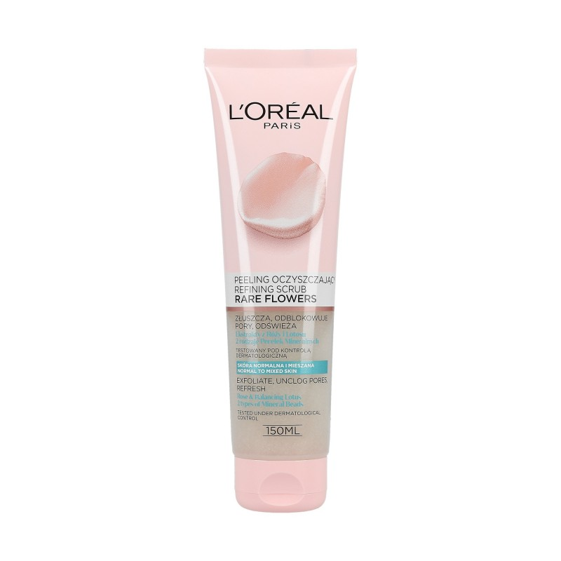 L'Oreal Rare Flowers Peeling For Normal And Mixed Skin