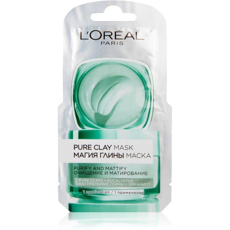 L'Oreal Pure Clay Purify Mask Single Pack