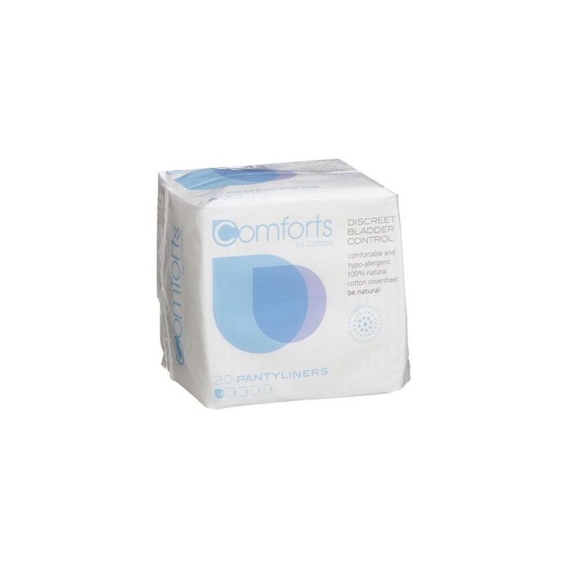 Cottons Discreet Pantyliners
