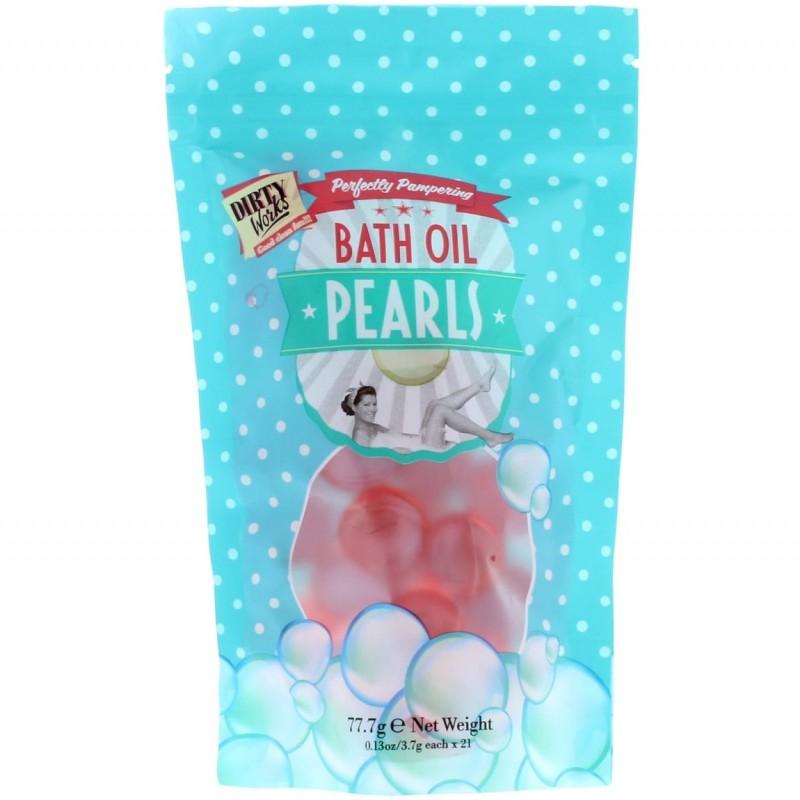 Dirty Works Bath Oil Pearls
