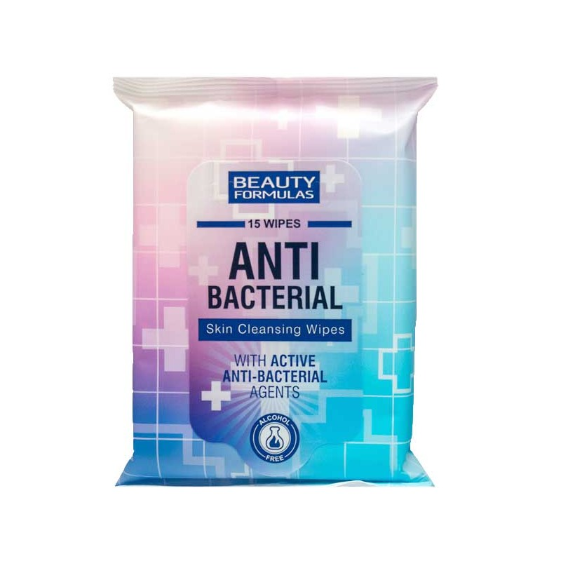 Beauty Formulas AntiBacterial Skin Cleansing Wipes