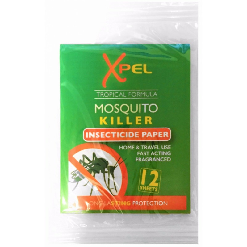 Xpel Mosquito Killer Insecticide Paper
