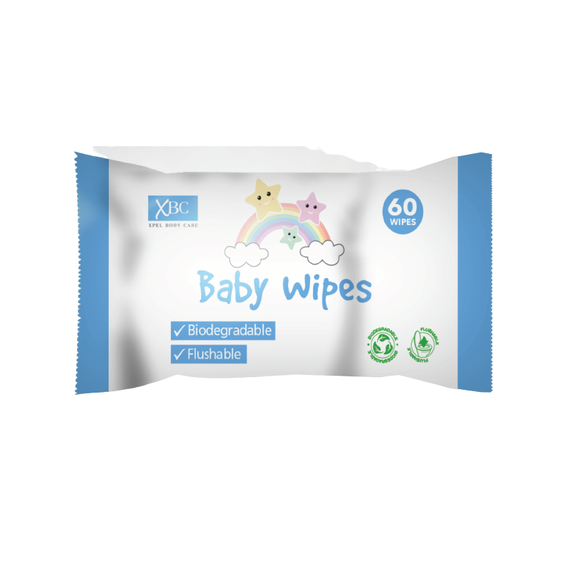 XBC Biodegradable Baby Wipes