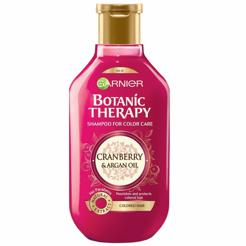 Garnier Botanic Therapy Cranberry & Argan Oil Shampoo For Colored Hair
