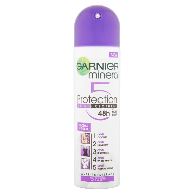 Garnier Mineral Protection Skin + Clothes 5 48h Deospray