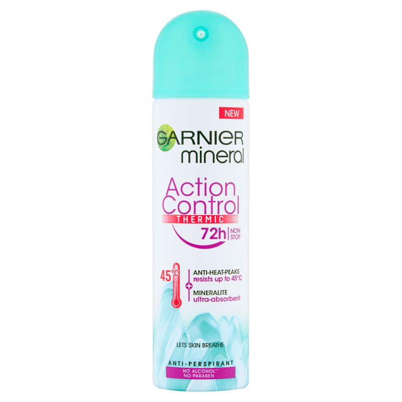 Garnier Mineral Action Control Thermic 72h Deospray