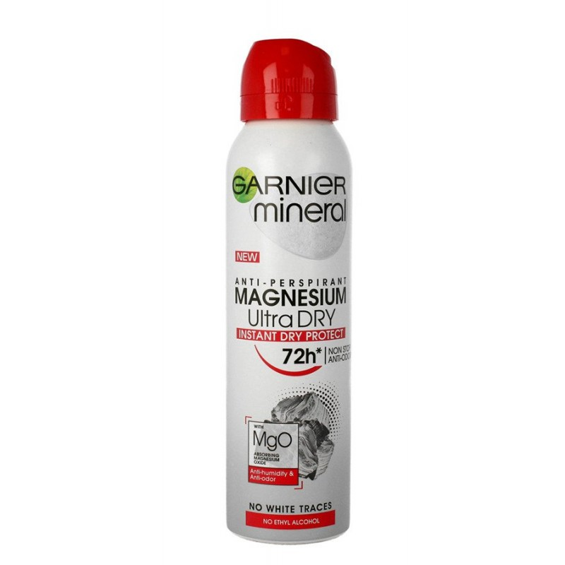 Garnier Mineral Magnesium Ultra Dry 72h Deospray
