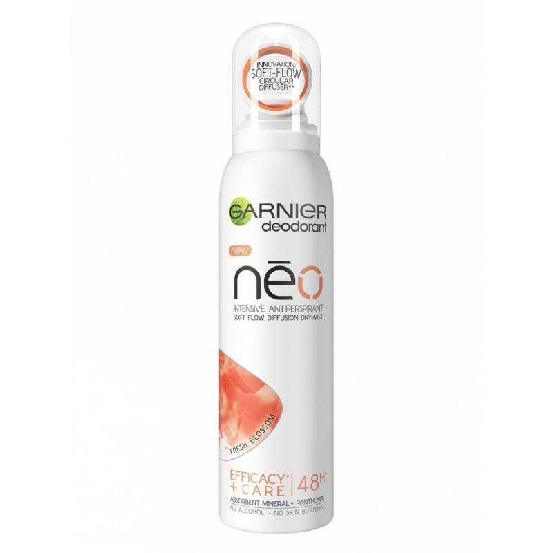 Garnier Neo Fresh Blossom Antiperspirant Dry-Mist Deodorant