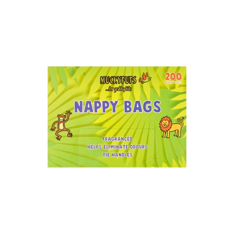 Quest Muckypups Nappy Bags