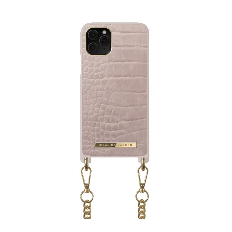 iDeal Of Sweden Phone Necklace Case Iphone 11 Pro Misty Rose Croco