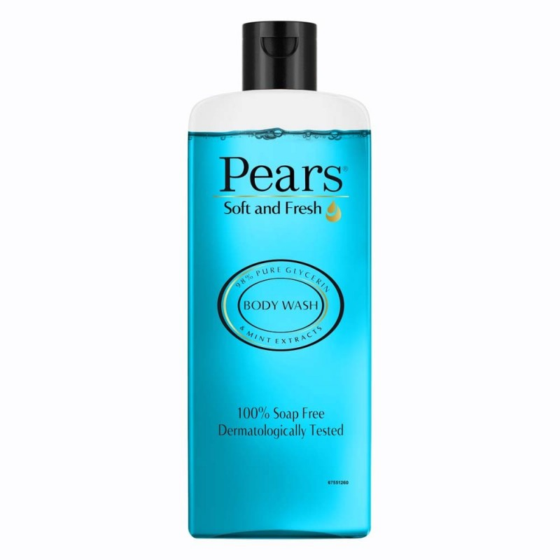 Pears Body Wash Mint Extract Blue