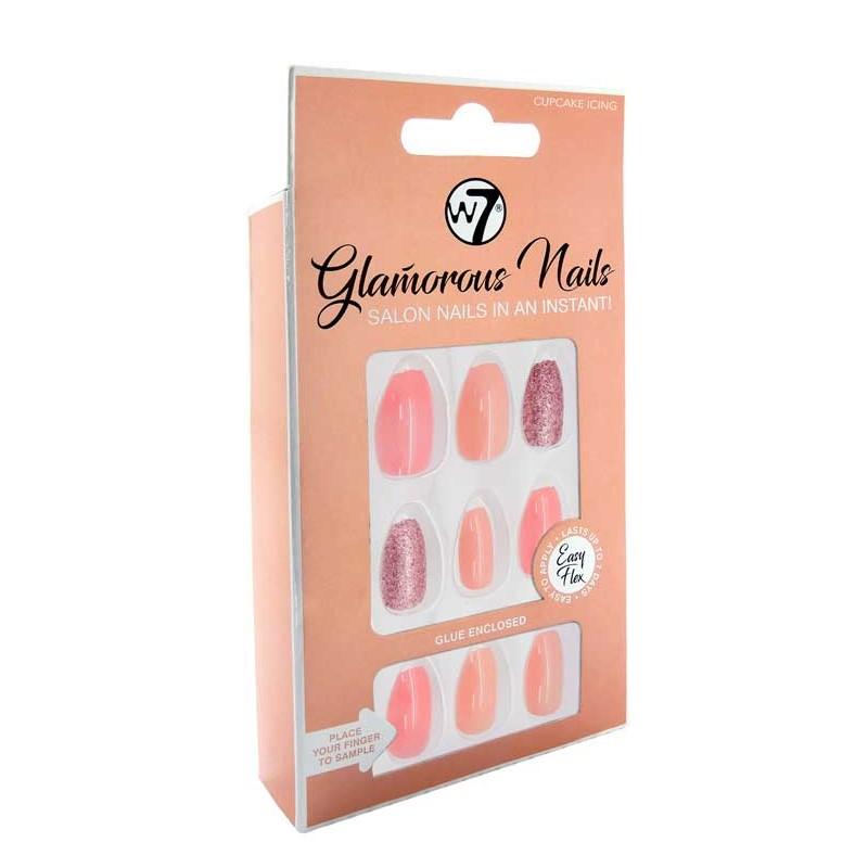 W7 Glamorous Nails Cupcake Icing