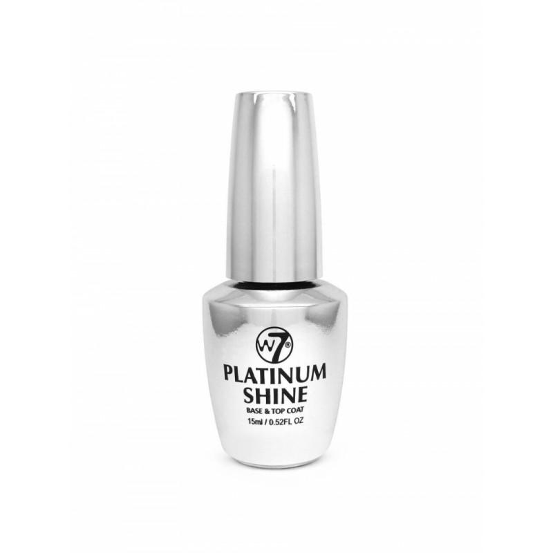 W7 Nail Treatment Platinum Shine Base & Top Coat
