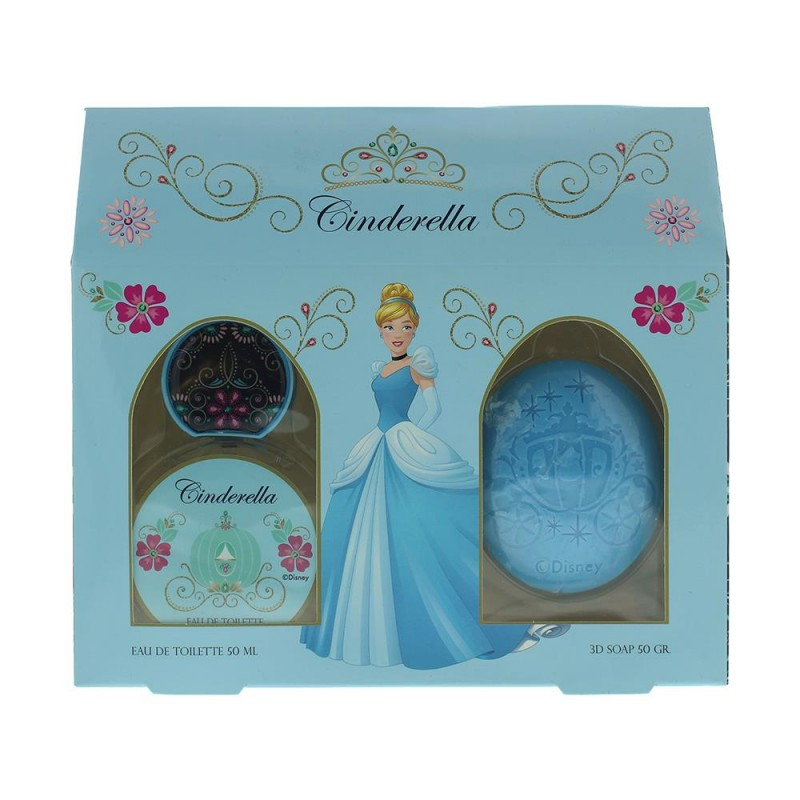 Disney Cinderella EDT & Soap Set