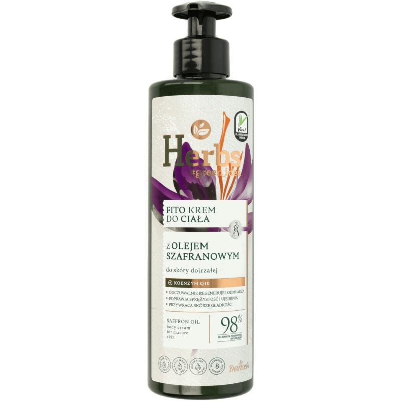 Farmona Herbs Saffron Oil Face & Body Cream For Mature Skin