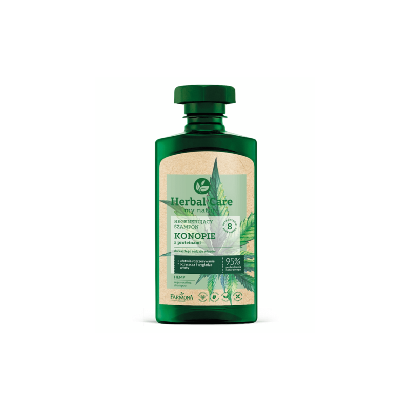 Herbal Care Hemp & Protein Regenerating Hair Shampoo