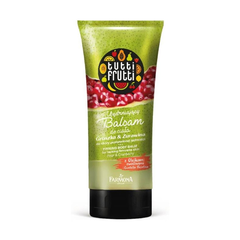 Tutti Frutti Pear & Cranberry Firming Body Balm