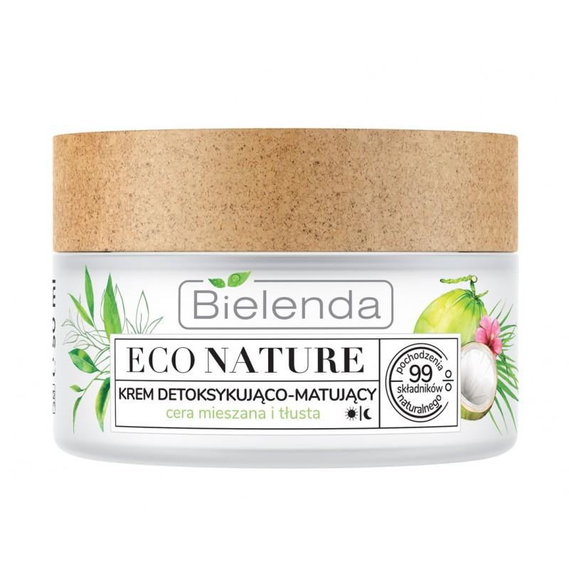 Bielenda Eco Nature Face Cream Coconut Water & Green Tea & Lemon Grass